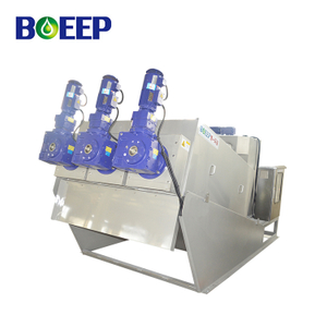 Efficient Volute Filter Press Dewatering with Laser Cutting for Food Industry Sludge