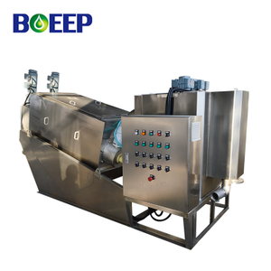 Automatic Self-cleaning Screw Press Sludge Dewatering for Municipal Sewage Treatment