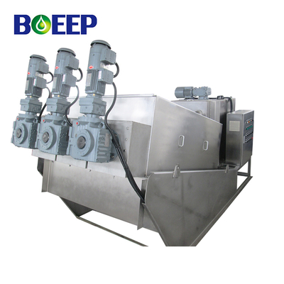 Highly Efficient Inclined Screw Thickener for Secondary Sedimentation Tank Sludge