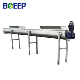 No-shaft Mud Cake Conveyor for Sludge Dehydrating System