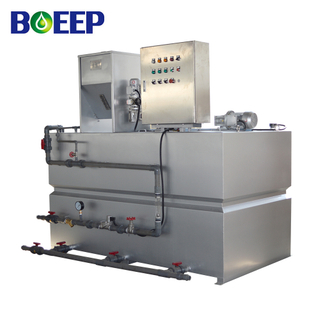 PAM Powder Dosing System for Sludge Flocculation